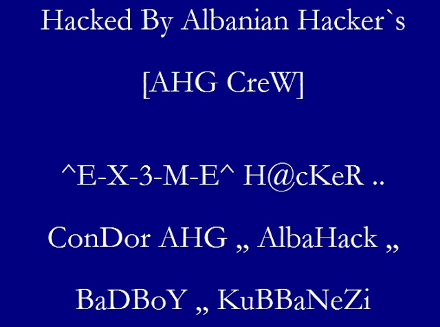 40 websites Hacked By AHG CreW