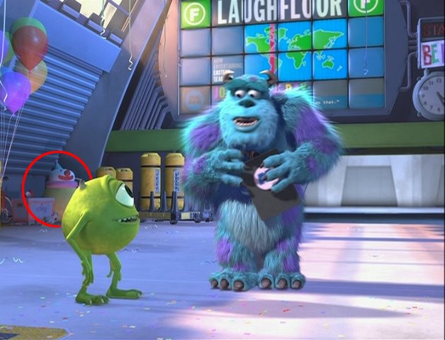 Varias Curiosidades de Pixar Studios 61