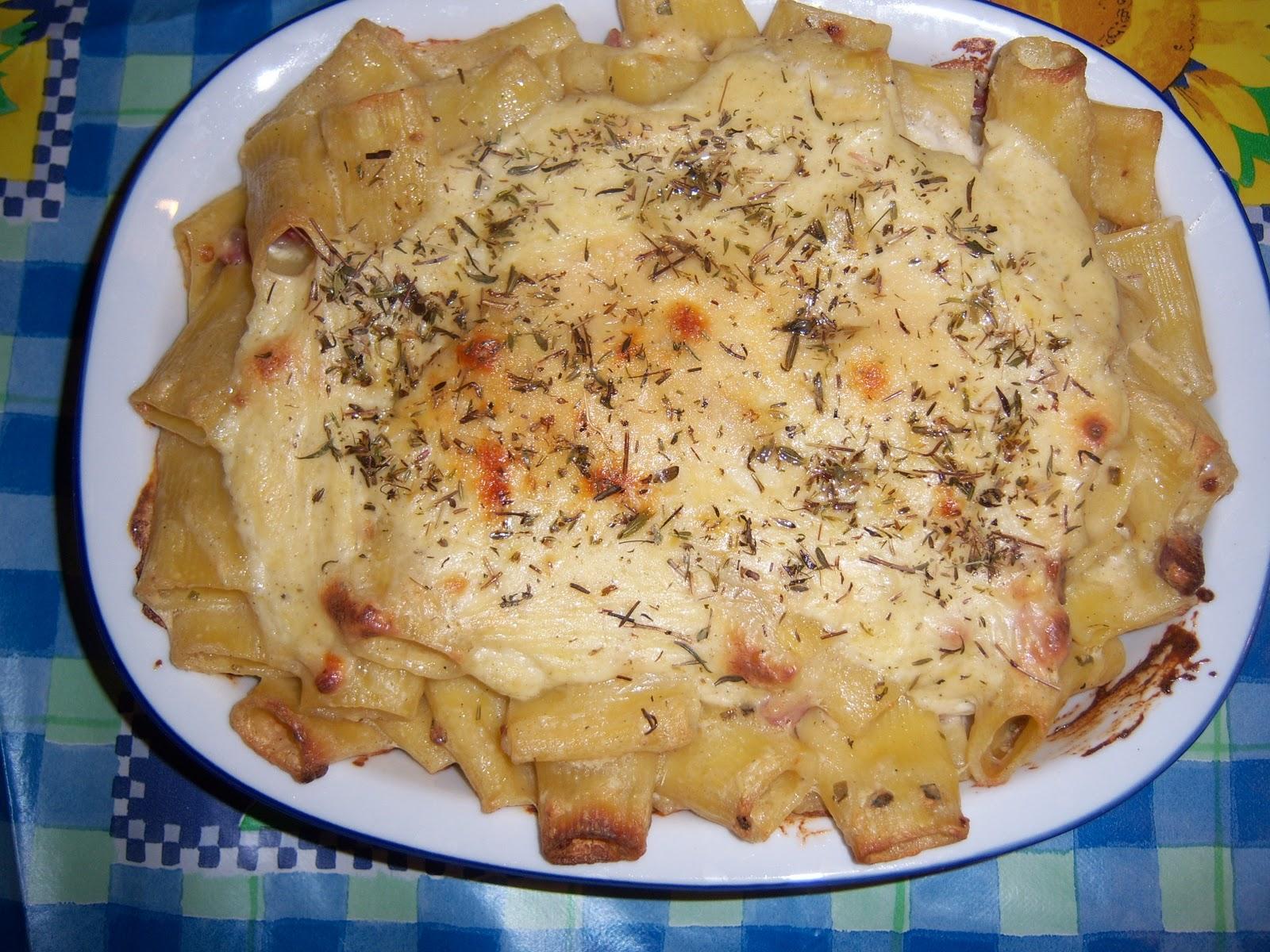 Ricette on line maccheroni al forno gustosi for Ricette on line