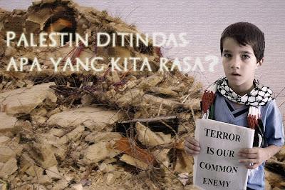 Palestin ditindas