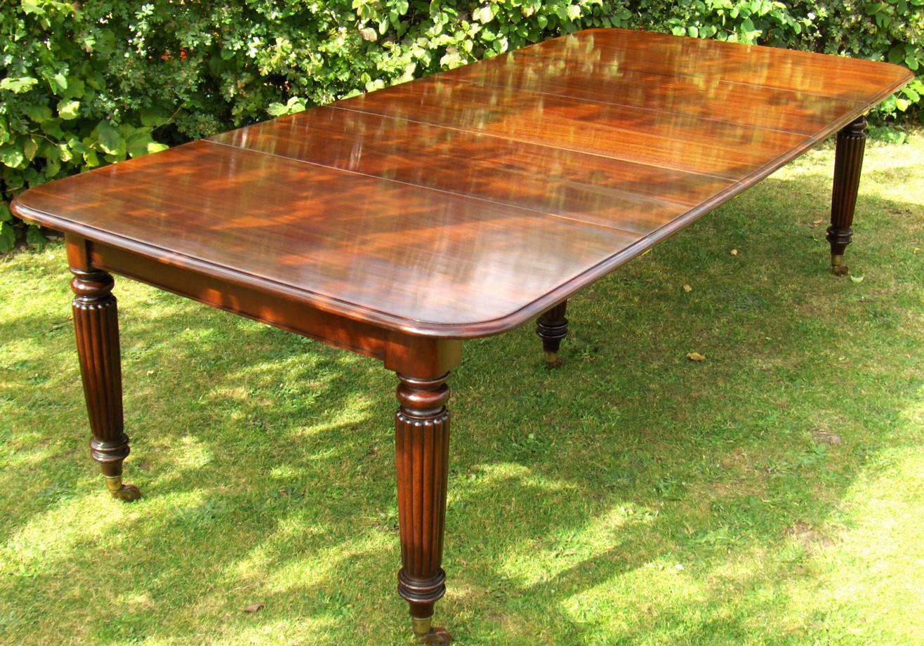 M B Restoration Items For Sale Regency Dining Table