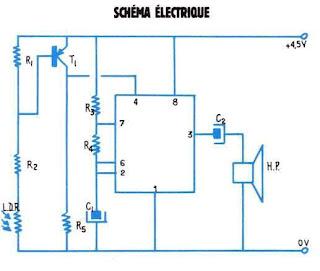 schema de detecteur electronique de lumiere arduino schema electronique a base de ne 555. Black Bedroom Furniture Sets. Home Design Ideas