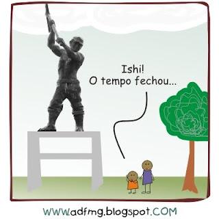 Os Puris - Estátua do Trabalhador, não do escravo!