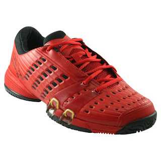 size 40 49859 8e2fd Today, we d like to feature the new Adidas — CC Genius Novak Masters Men s  Tennis shoe. This edition of the CC Genius is the red Novak Masters Mens  Tennis ...