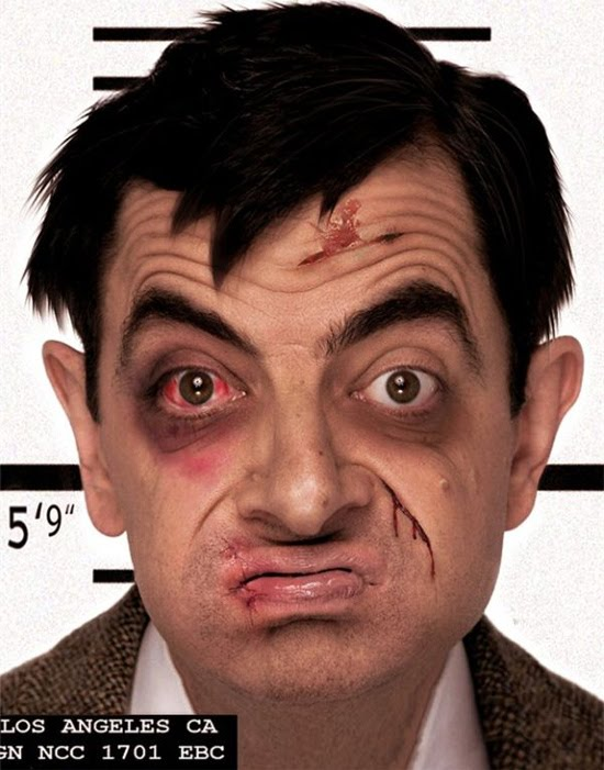 VIP Fight Club Mr Bean