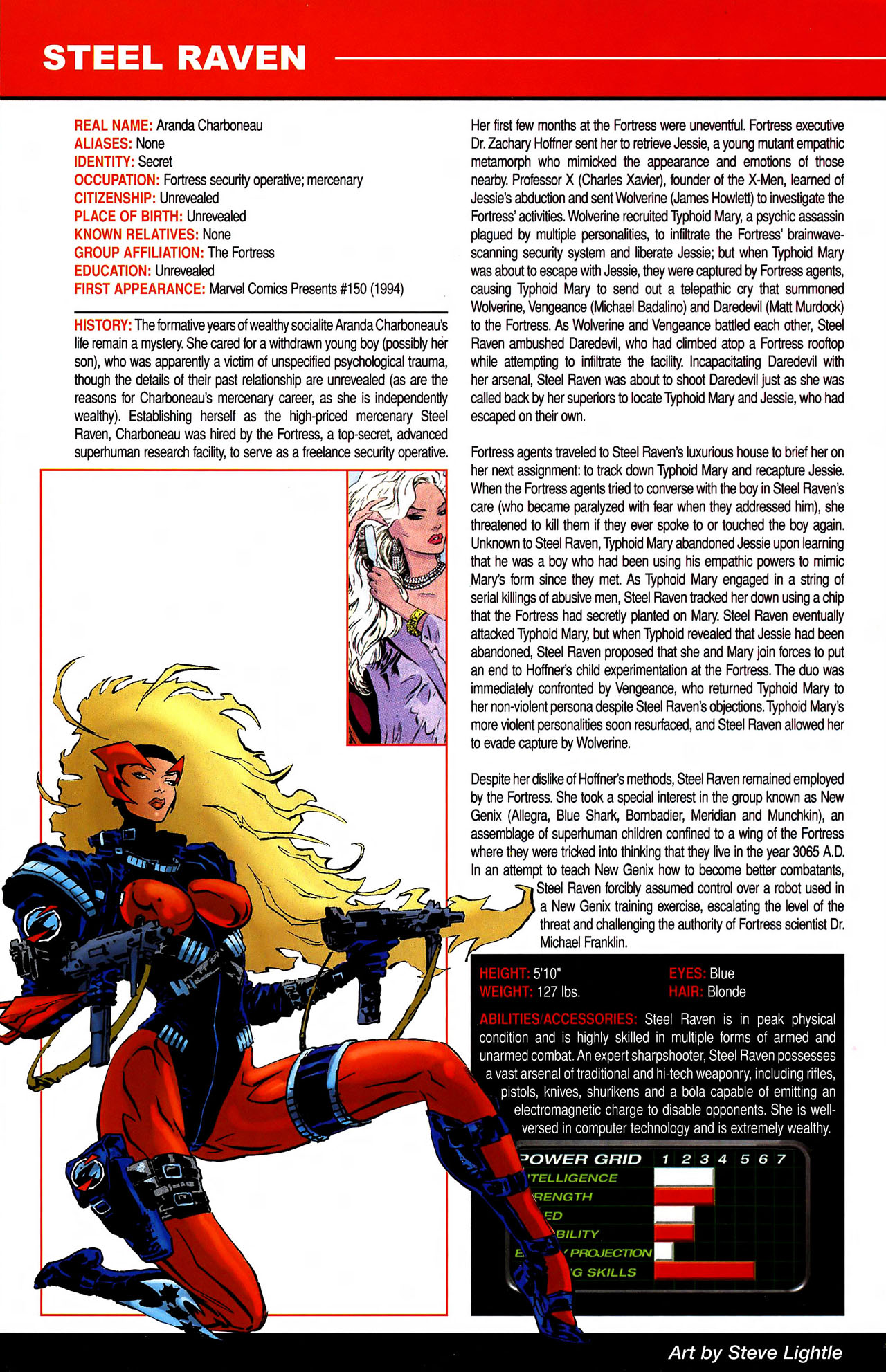 Read online All-New Official Handbook of the Marvel Universe A to Z comic -  Issue #10 - 60