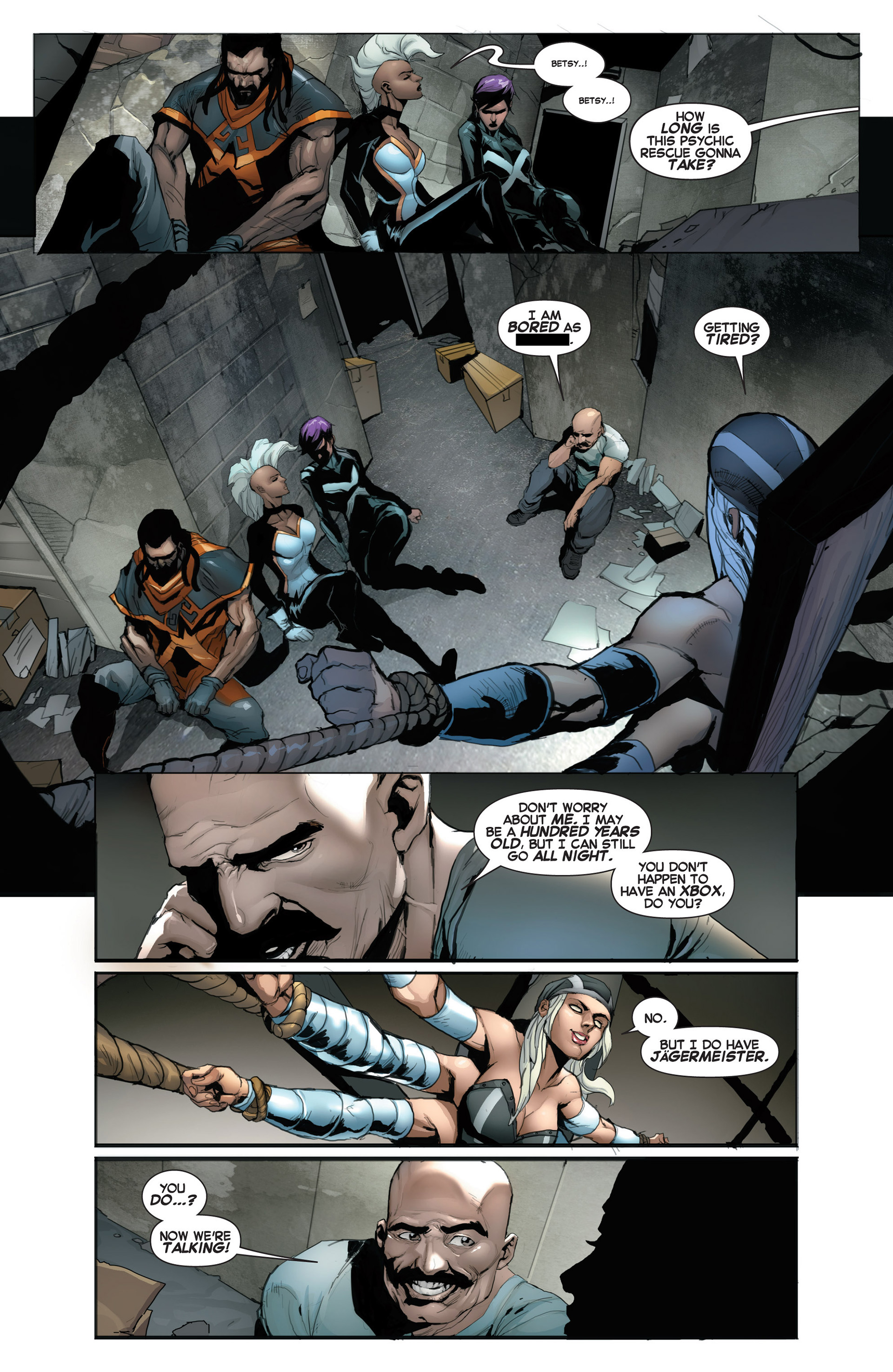 Read online Uncanny X-Force (2013) comic -  Issue #5 - 11