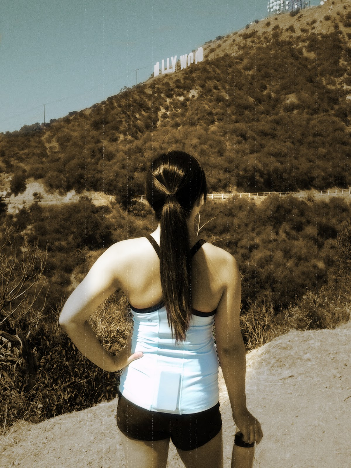 My Superficial Endeavors Ikea: My Superficial Endeavors: Hiking To The Hollywood Sign