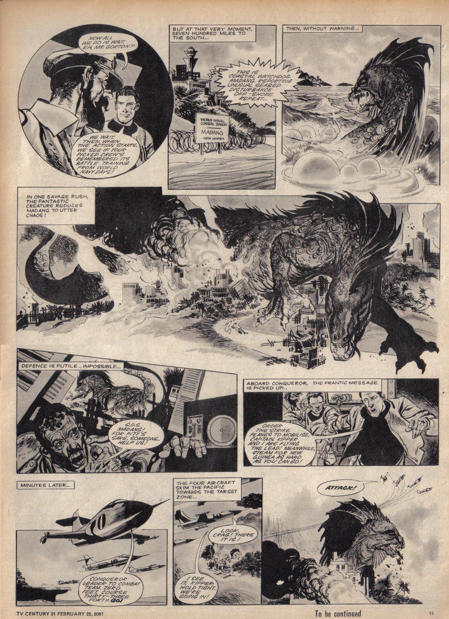 Read online TV Century 21 (TV 21) comic -  Issue #110 - 14