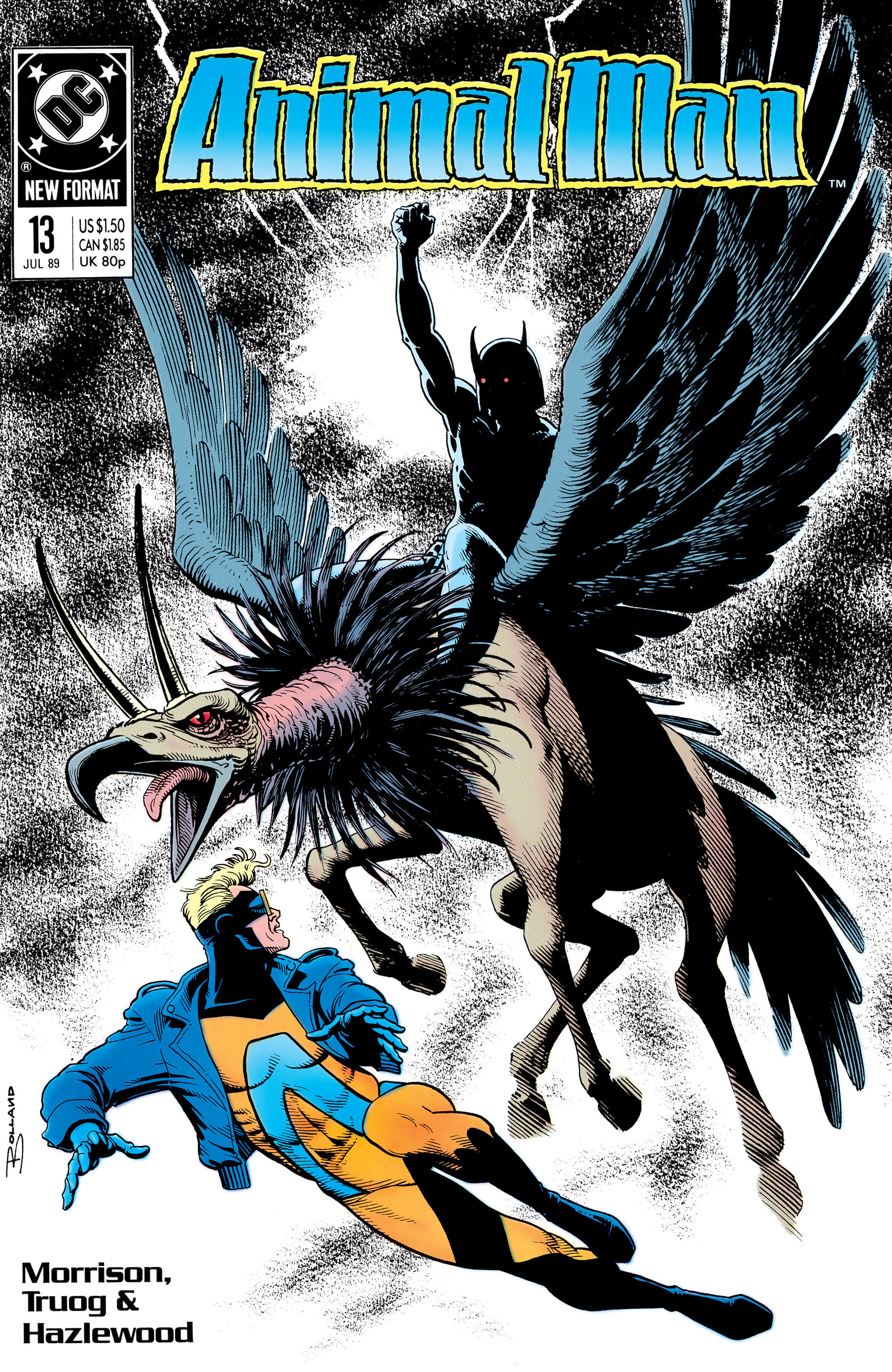 Read online Animal Man (1988) comic -  Issue #13 - 1