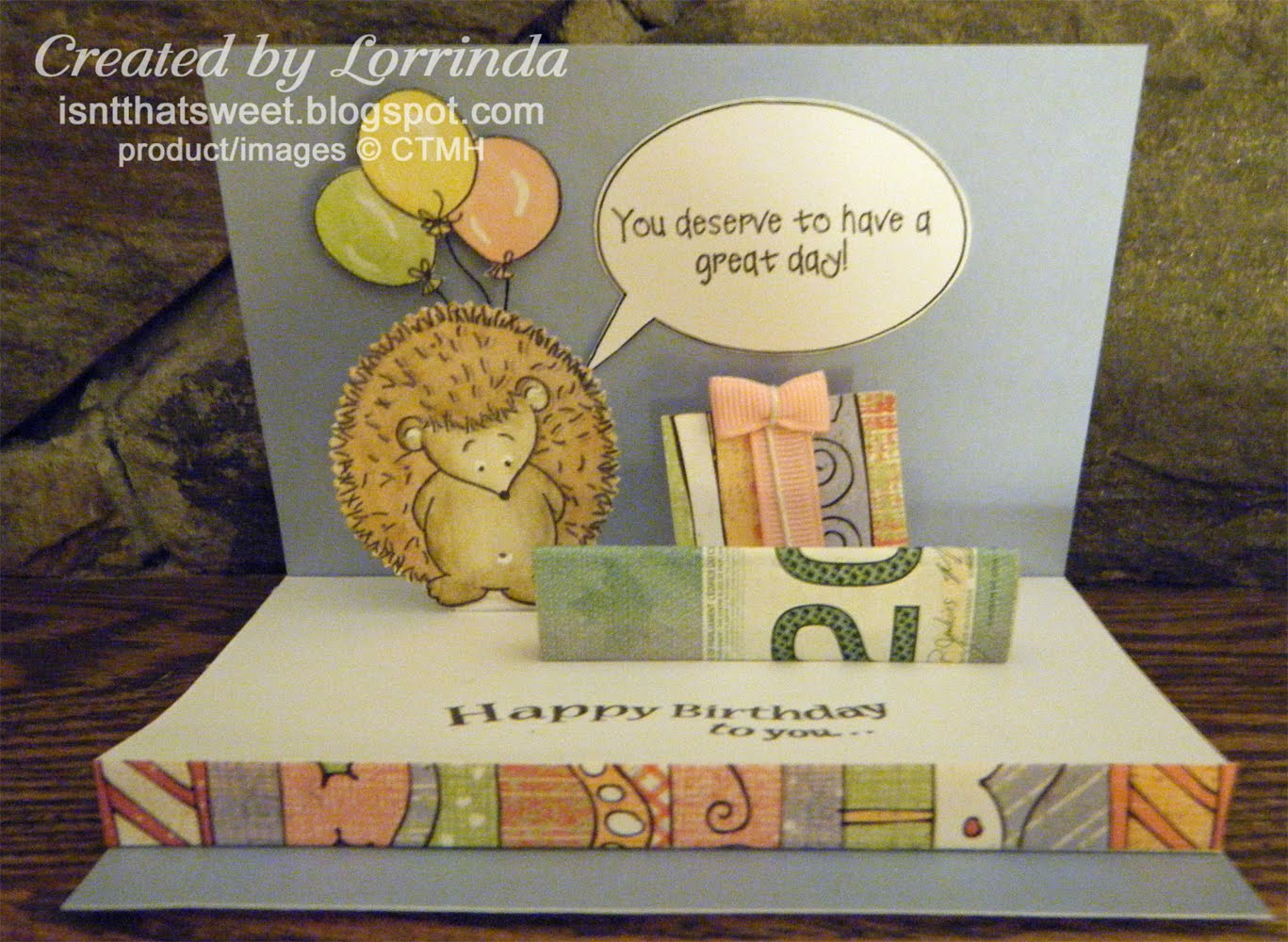 hedgehog pop up card isn t that sweet hedgehog pop up stage card 4658