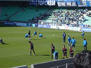 Ulsan warm-up