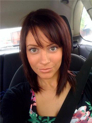 New Hair Colour Deep Reddish Brown