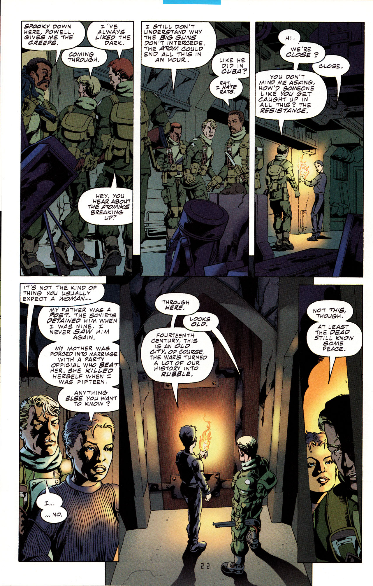Read online Tangent Comics/ Metal Men comic -  Issue # Full - 21