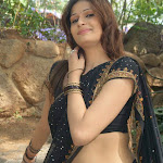 Neval Show In Saree