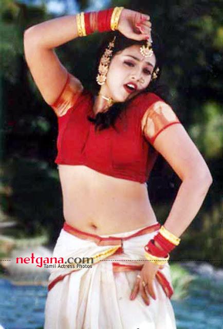 Film Actress Photos: Actress Meena Hot Navel Show Photos