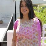 Dhana Actress Sageetha In Pink Saree