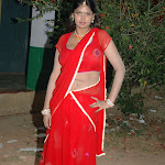 Bhuvaneswari Sexy In Red Saree
