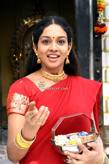 Tamil Actress Karthiga In Saree