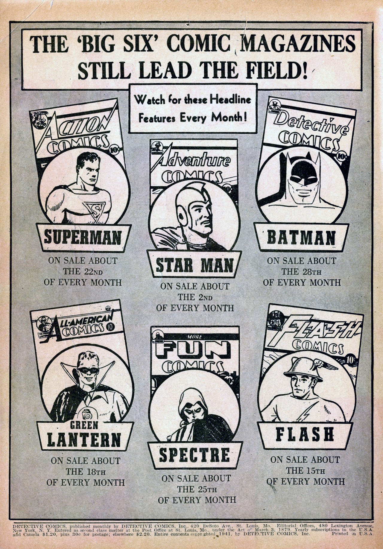 Detective Comics (1937) 50 Page 2