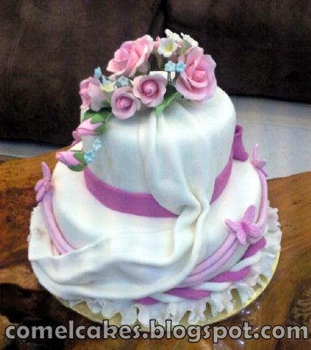 Wedding Cake Classes: Comel's Cakes & Cupcakes Johor Bahru: Wedding Cake Class