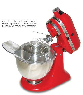 Cuppy Creme I Need Help With My Kitchen Aid Ice Cream Maker