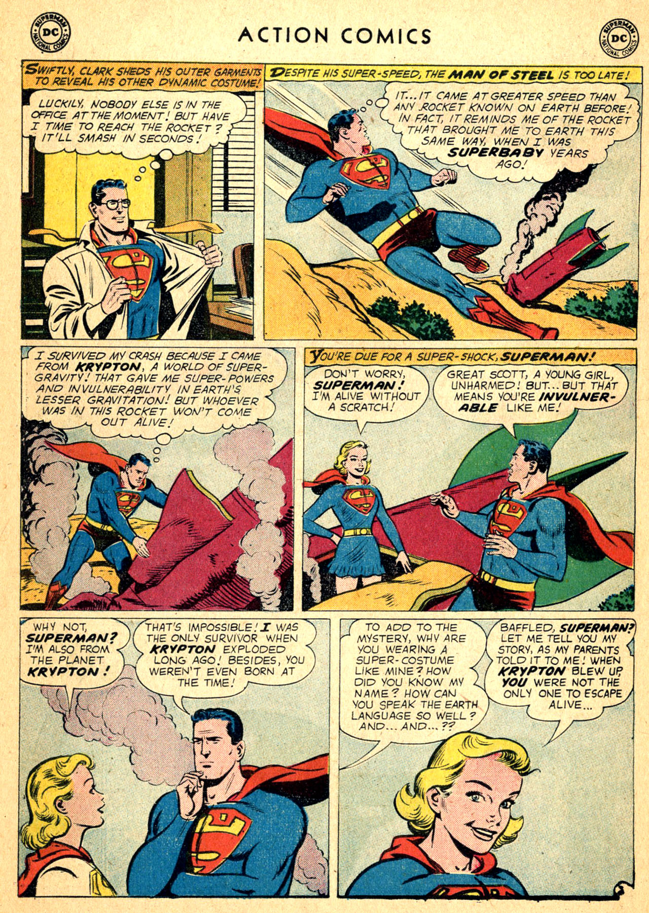 Read online Action Comics (1938) comic -  Issue #252 - 26