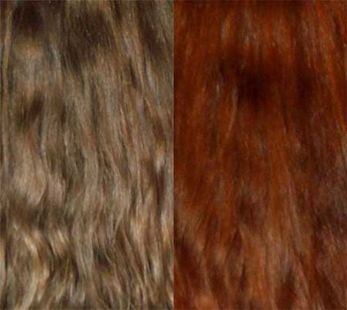 I Left The Paste In My Hair For About 3 Hours Example Here Is A Before And After Pic Of Someone Who Hennaed Their