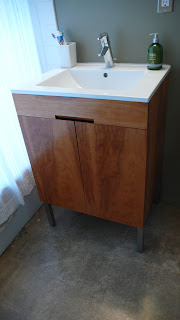 Our cliff may rancho rehab master bath vanity - Building a bathroom vanity from scratch ...