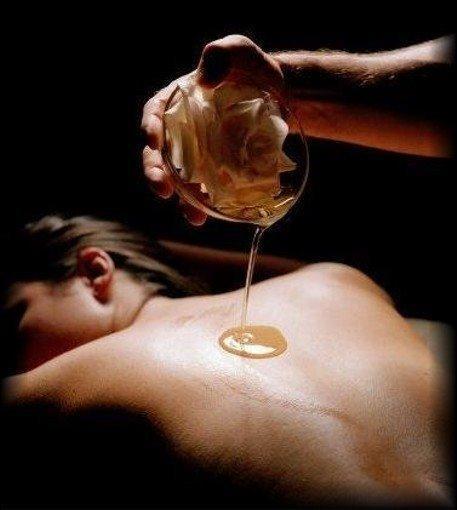 Aceites en los masajes sensuales