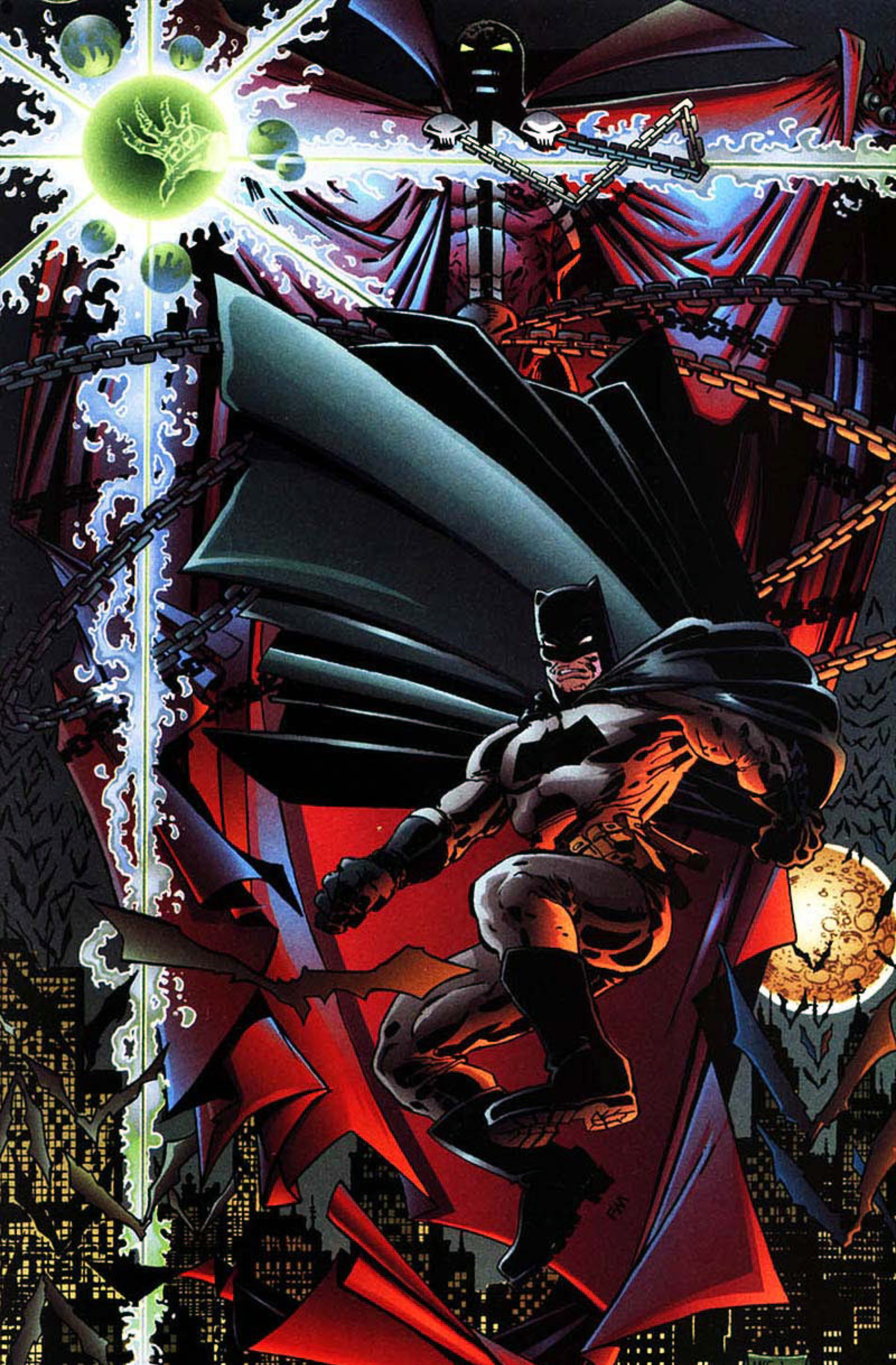 Read online Spawn-Batman comic -  Issue # Full - 58