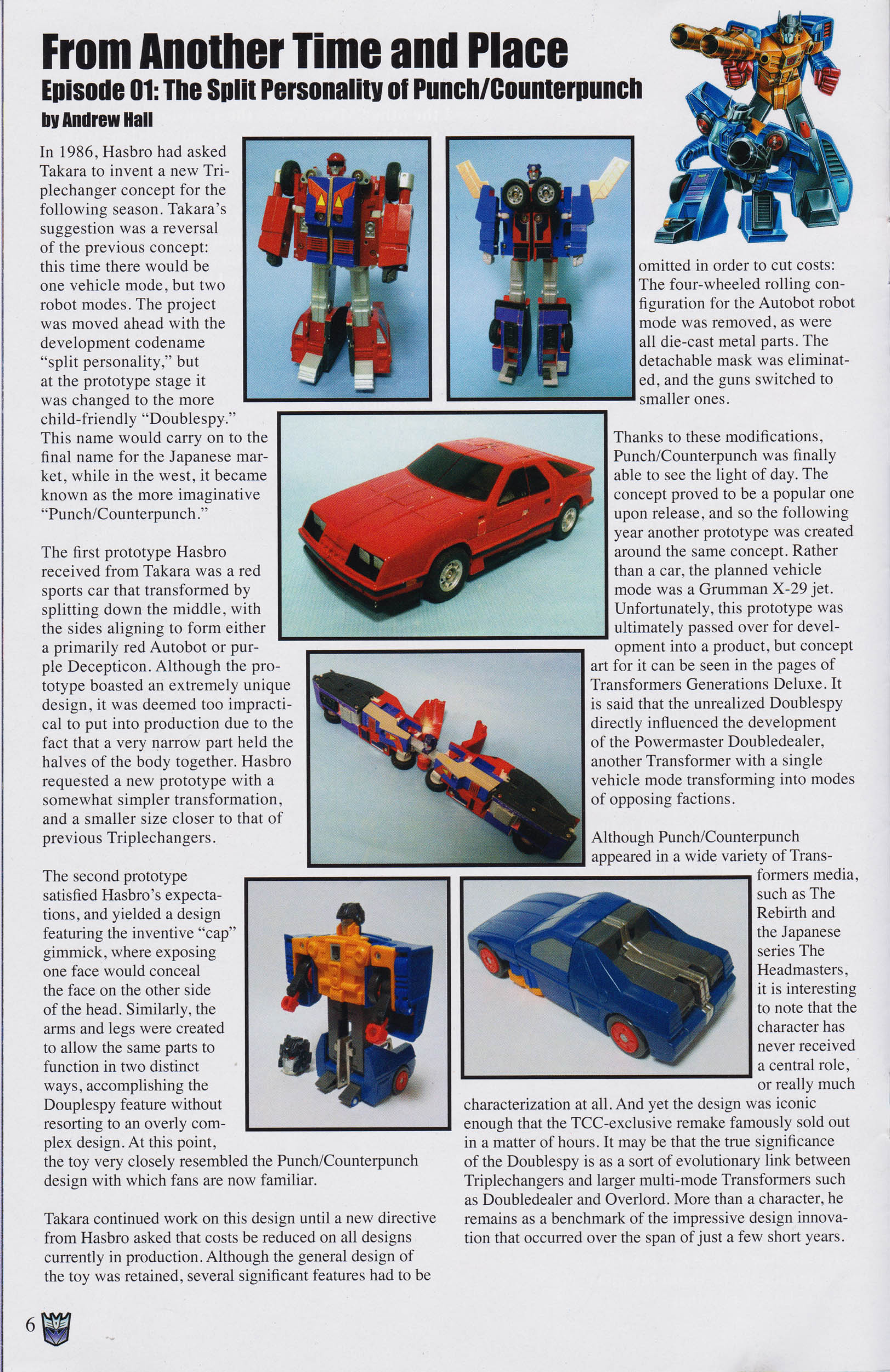 Read online Transformers: Collectors' Club comic -  Issue #65 - 6