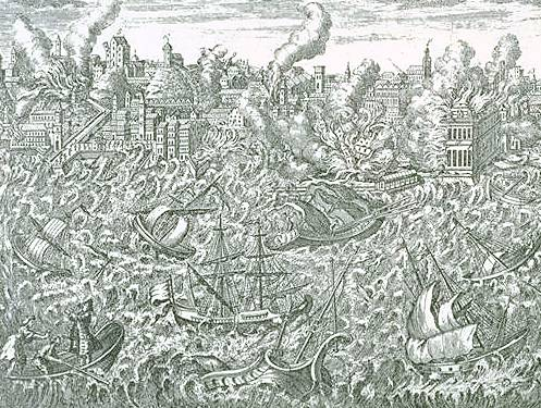 a report on the lisbon earthquake of 1755 and voltaires candide The 1755 lisbon earthquake of the lisbon earthquake in both candide and his poème to topics such as mass death as coolly as a weather report.