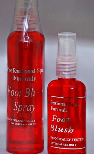 Fab Package Professional Skin Care Formula Foot Blush Spray