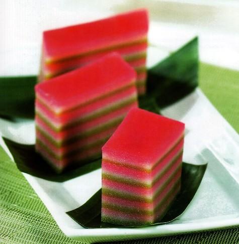 Kue Basah Resep Lapis Tepung Beras Artikel Indonesia
