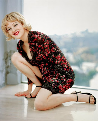 toes Drew barrymore