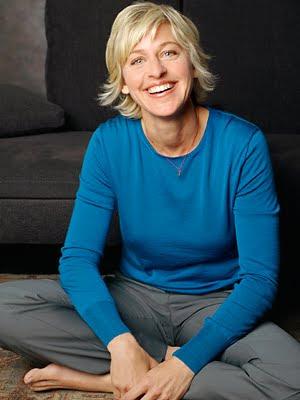 Send Ellen DeGeneres a email?