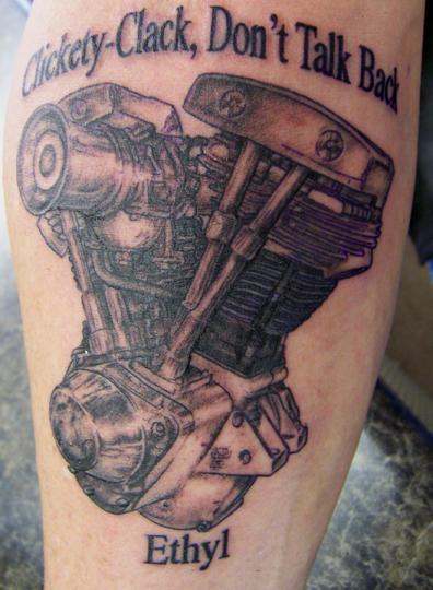 Phoenix Auto Parts >> Tattoo Flash: Biker Tattoos