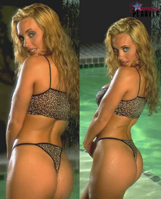 Coco Before Butt Implants 104