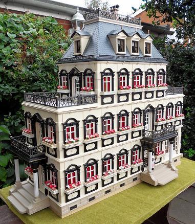 Cluedo mansion emma j 39 s playmobil for Mansion de playmobil