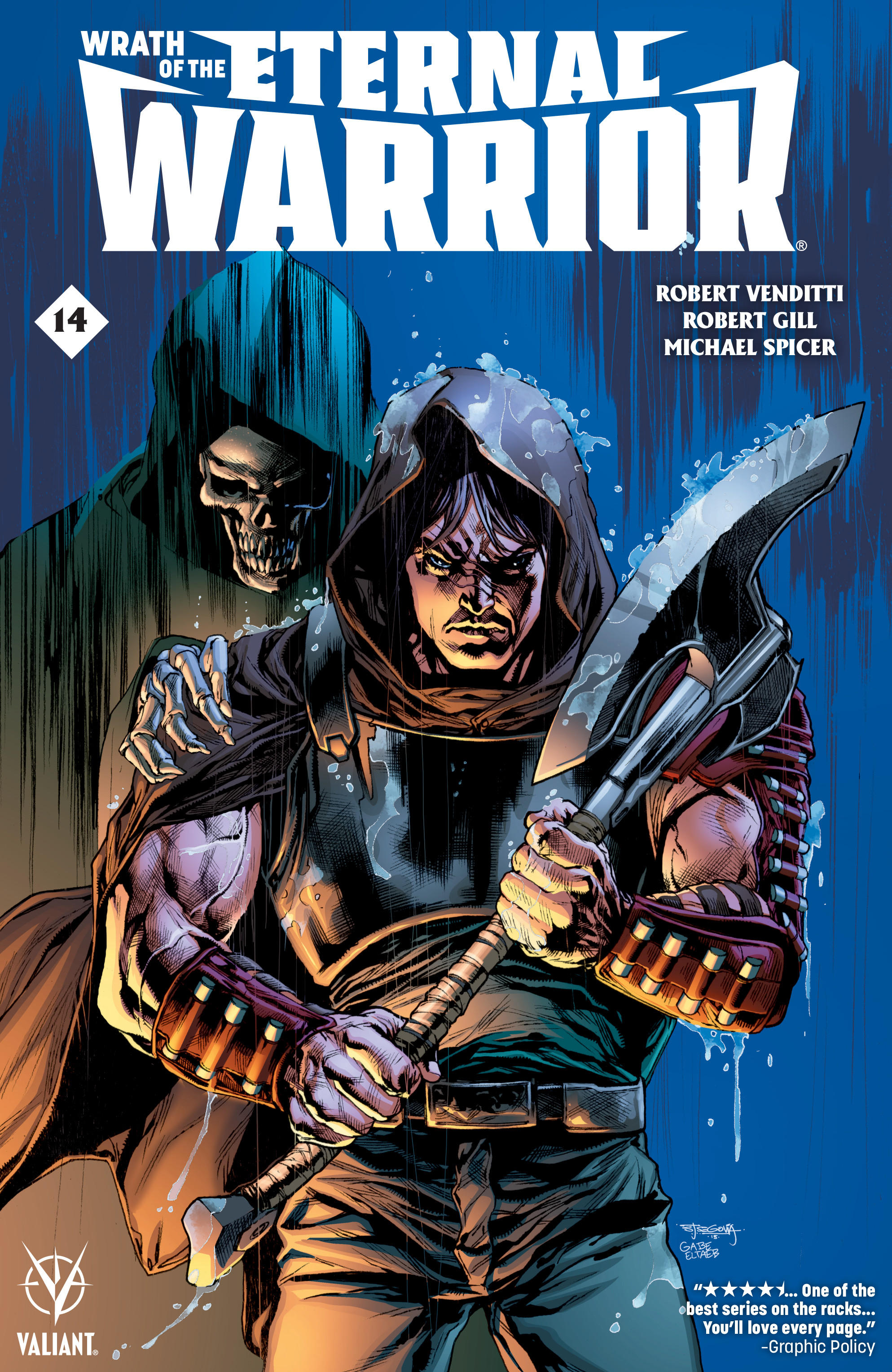 Read online Wrath of the Eternal Warrior comic -  Issue #14 - 1