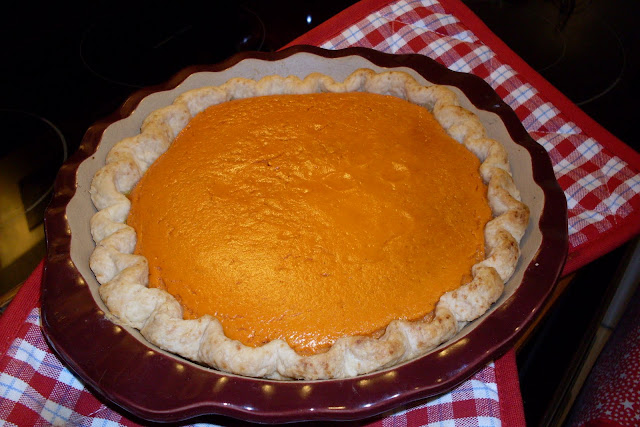 Carrot (custard) Pie