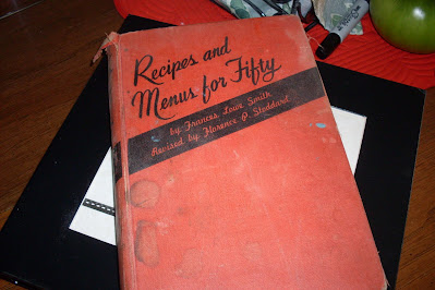 My Grandmother's Cookbook, @ Creative Writing from the Heart.
