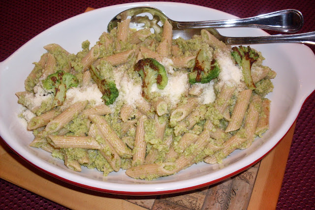 How to make, Broccoli Sauce for Pasta, a Laurie Colwin recipe.