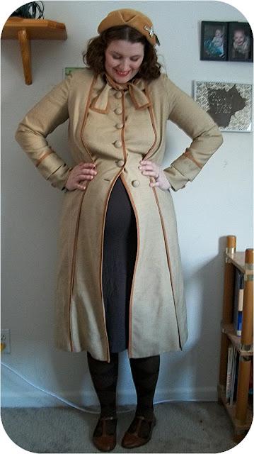 vintage maternity fashion 1930s jacket via Va-Voom Vintage