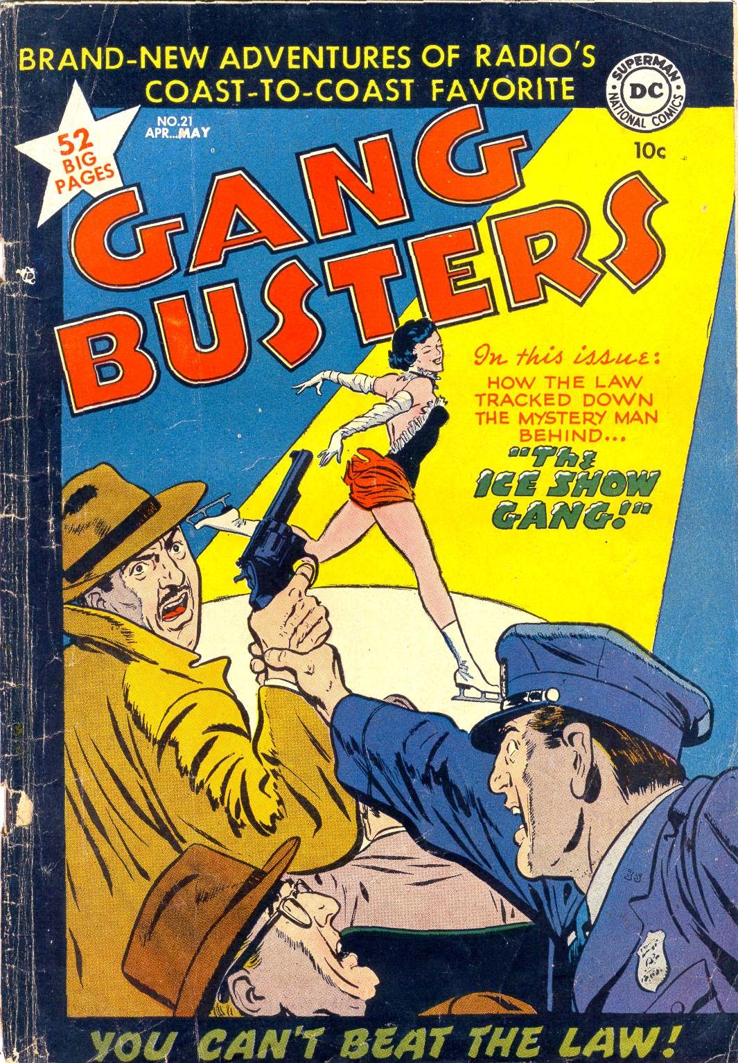 Gang Busters 21 Page 1