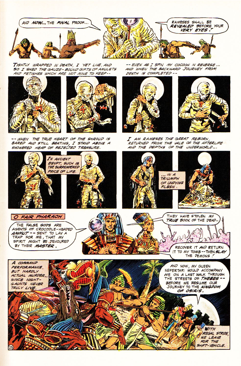 Read online Aztec Ace comic -  Issue #4 - 23