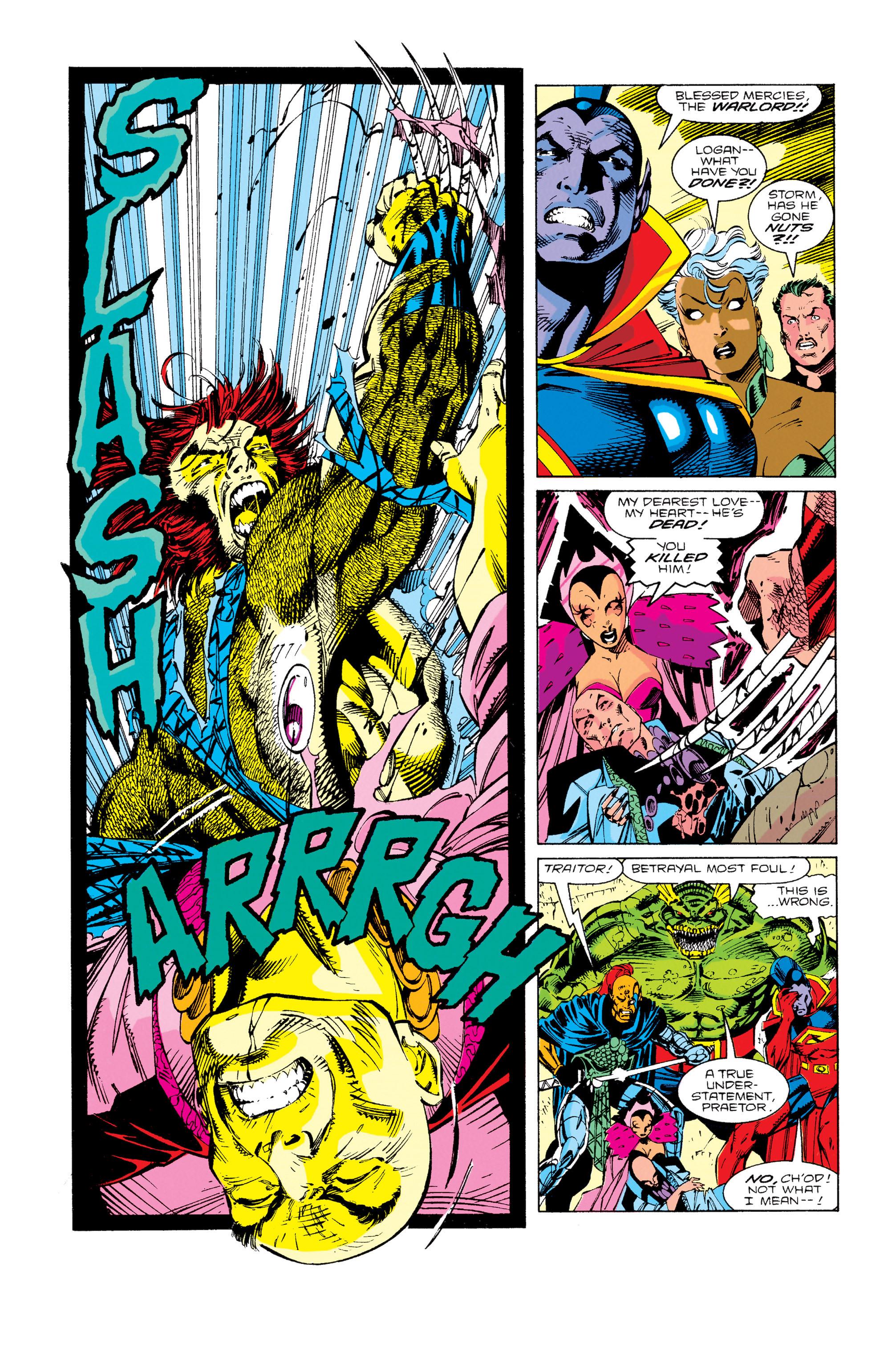 Read online Uncanny X-Men (1963) comic -  Issue #276 - 11