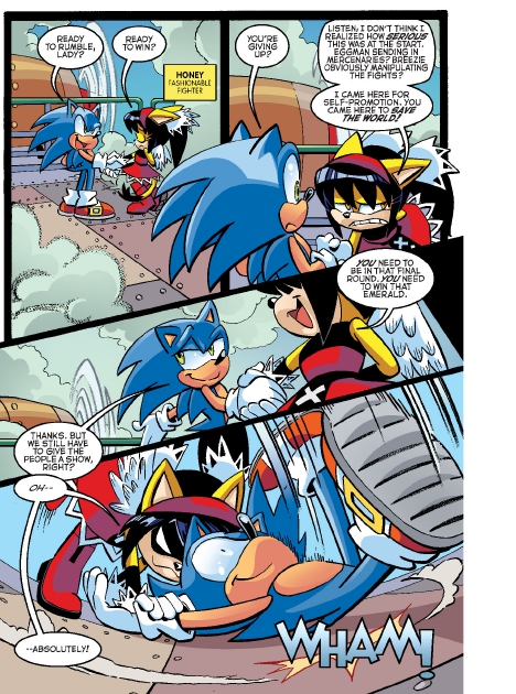 Read online Sonic Comics Spectacular: Speed of Sound comic -  Issue # Full - 48