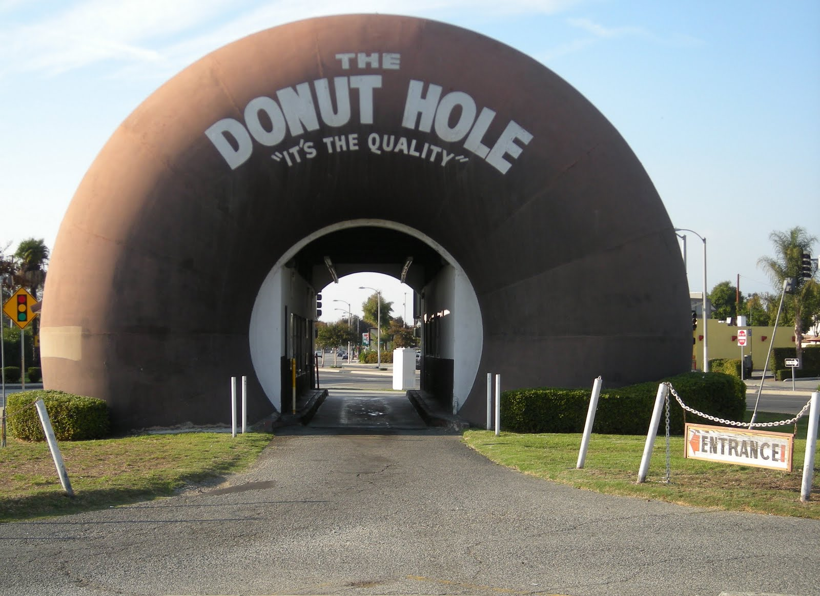 Here's the Donut Hole.  Where's the Donut?